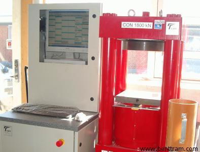 CON4 machine for concrete testing